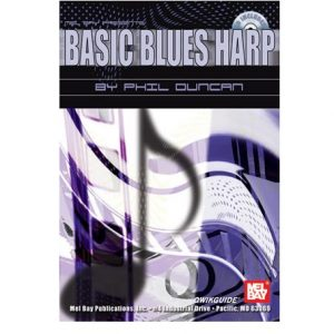 Basic Blues Harp book