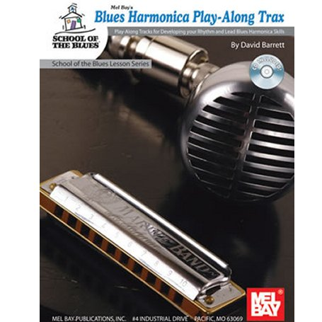 Blues Harmonica Play Along Trax