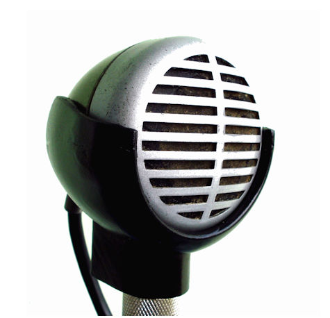 Green Bullet Microphone Holder