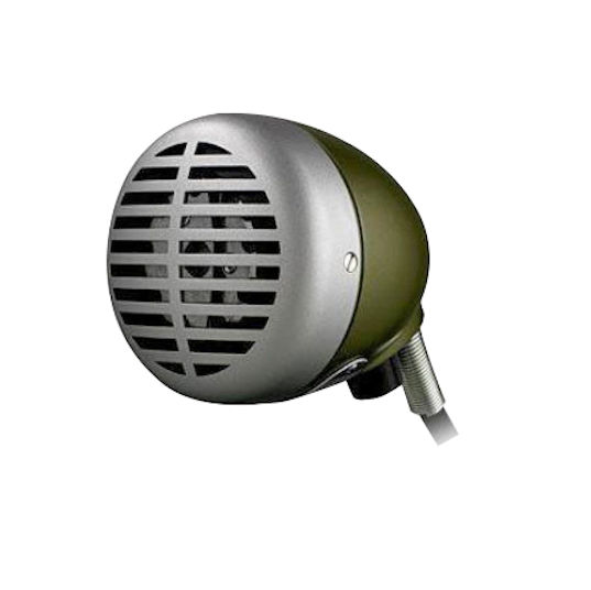 Shure Green Bullet Microphone