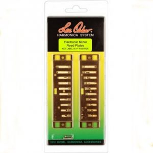 Lee Oskar Harmonic Minor Reed Plates Harmonicas Direct