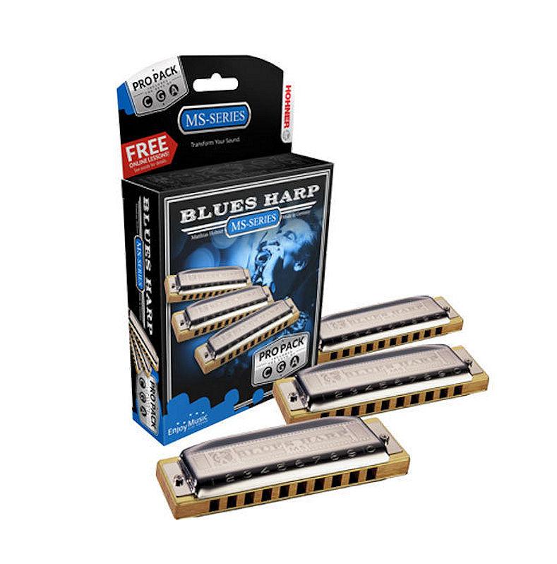 Hohner Blues Harp Pro Pack