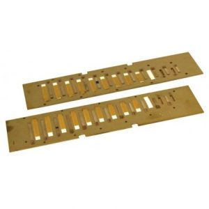 Hohner CX12 Gold Reed Plates