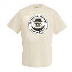 Invisible Blues Man T Shirt