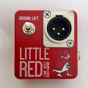 Little Red DI Box Harmonicas Direct