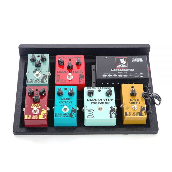 Wolf Pack Pedal Board
