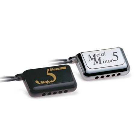 Suzuki Metal Major and Minor 5 Hole Harmonica