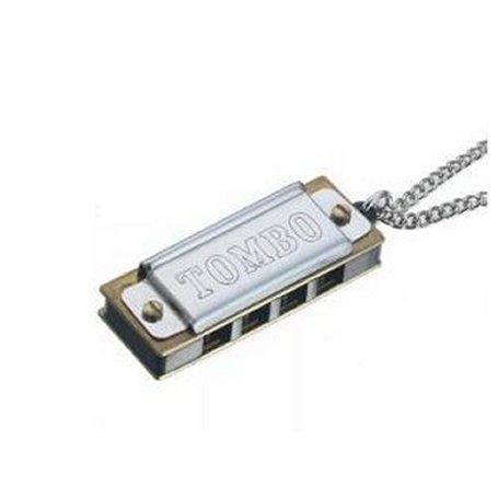 Tombo Mini Harmonica with Chain