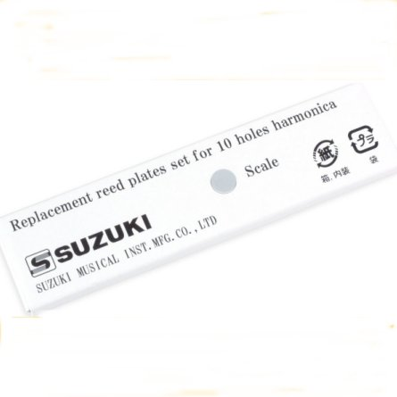 Suzuki Promaster MR350v Valved Reed Plates