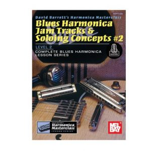 Blues Harmonica Jam Tracks and Soloing Concepts #2