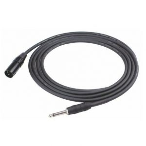 XLR (male) to Jack Microphone Cable