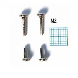 Seydel chromatic cover plate screws