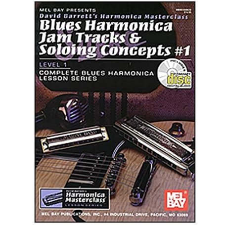 Blues Harmonica Jam Tracks And Soloing Concepts #1