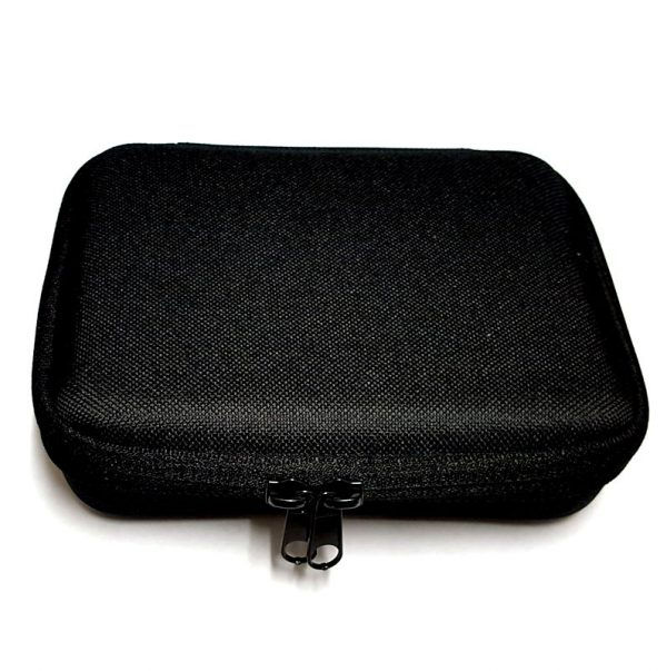 Case for holding five harmonicas