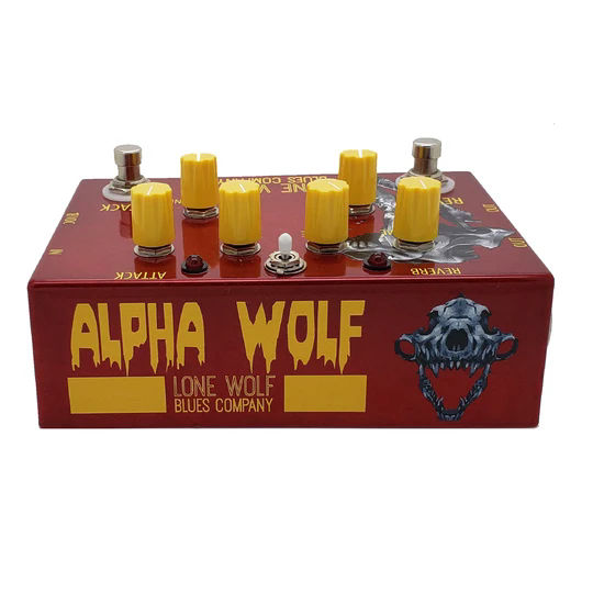 The Lone Wolf Alpha Wolf effect pedal