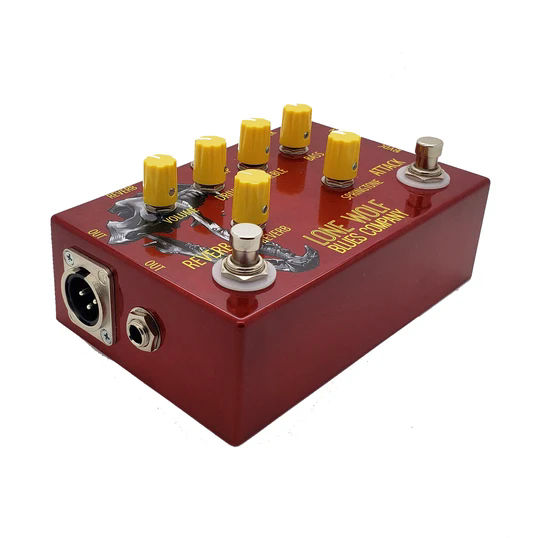 The Alpha Wolf effect pedal