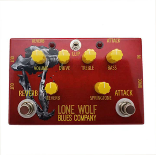 Lone Wolf Alpha Wolf effects pedal