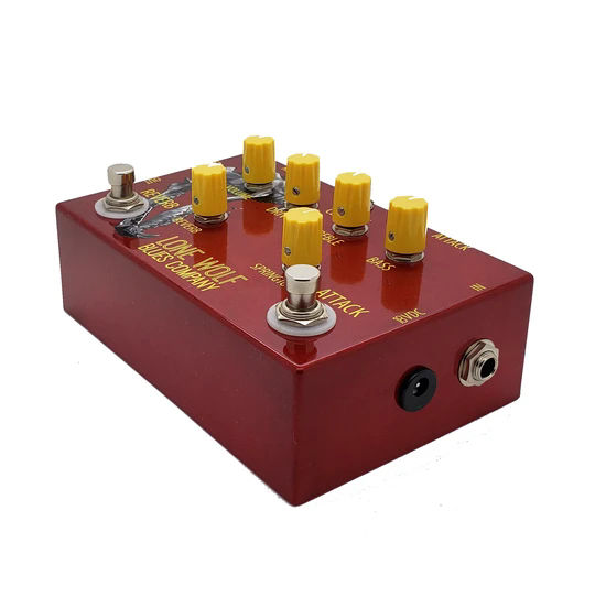 The Lone Wolf Blues Co. Alpha Wolf effect pedal