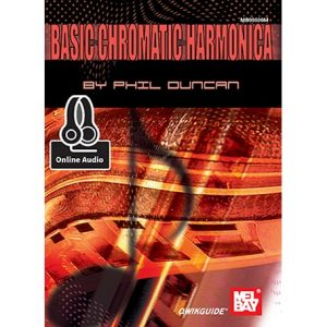 Basic Chromatic Harmonica book Harmonicas Direct