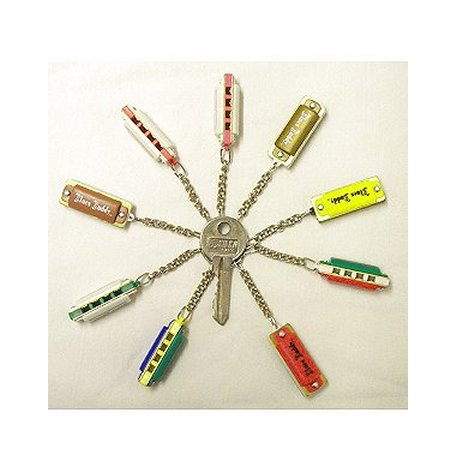 mini harmonica key ring