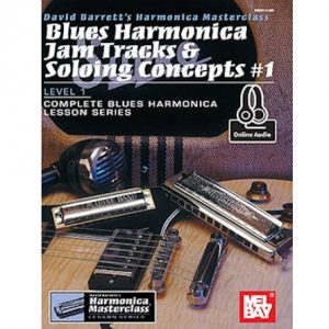 Blues Harmonica Jam Tracks and Soloing Concepts 1
