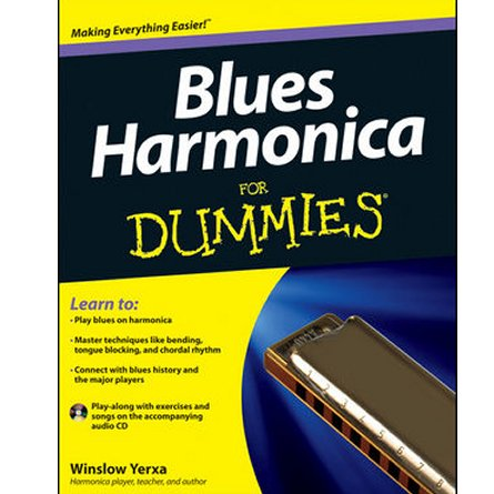 Blues Harmonica for Dummies book