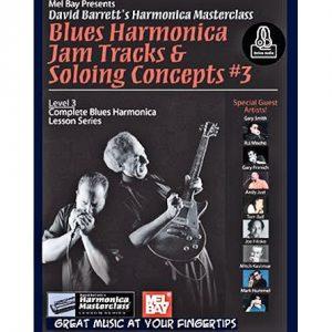 Blues Harmonica Jam Tracks