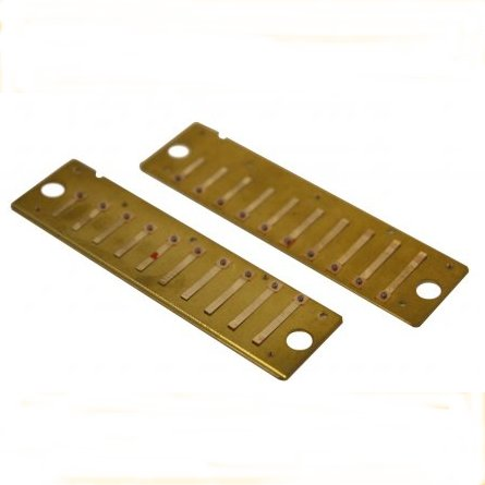 Hohner Golden Melody Reed Plates Harmonicas Direct