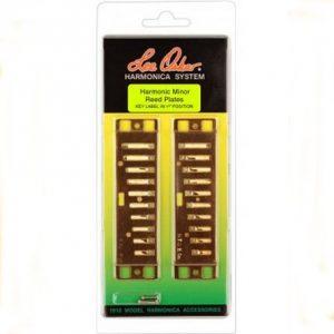 Lee Oskar Harmonic Minor Reed Plates Harmonicas Direct