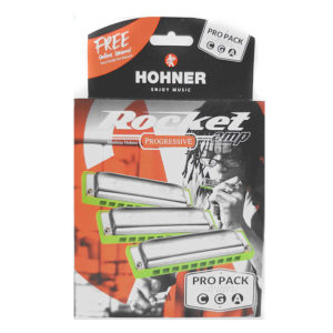 Hohner Rocket Amp Pro Pack of 3 harmonicas