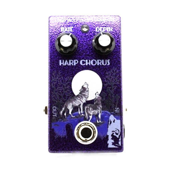 The Lone Wolf Harp Chorus harmonica effects pedal