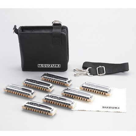 Suzuki Manji 7 and 8 Set Harmonicas Direct