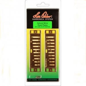 Lee Oskar Natural Minor Reed Plates Harmonicas Direct