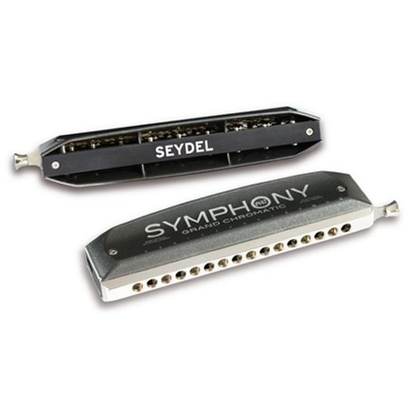 Seydel Symphony Alu Chromatic Harmonicas Direct