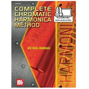 Complete Chromatic Harmonica Method Harmonicas Direct