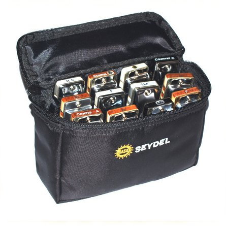 Seydel 12 Gigbag (belt bag) Harmonicas Direct