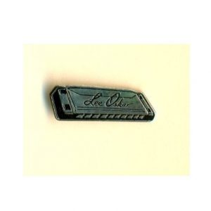 Lee Oskar Pin Badge Harmonicas Direct